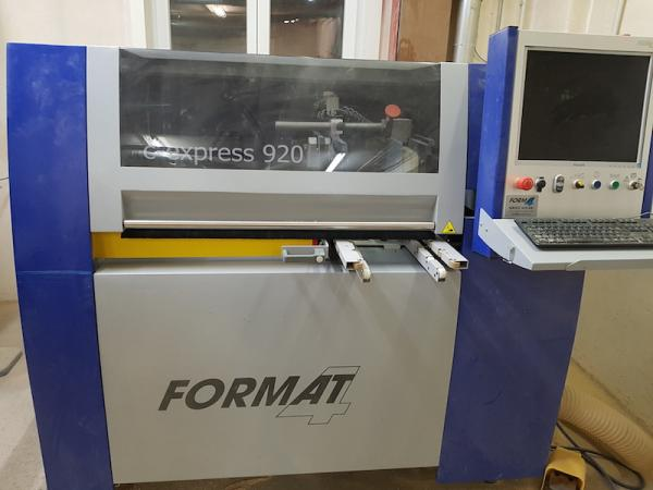 compact CNC machining center (3.000 x 920 mm)