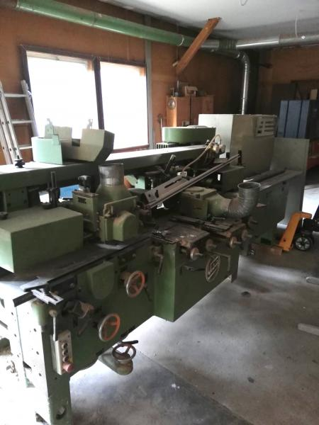 Four side planer (left/right turning spindle)