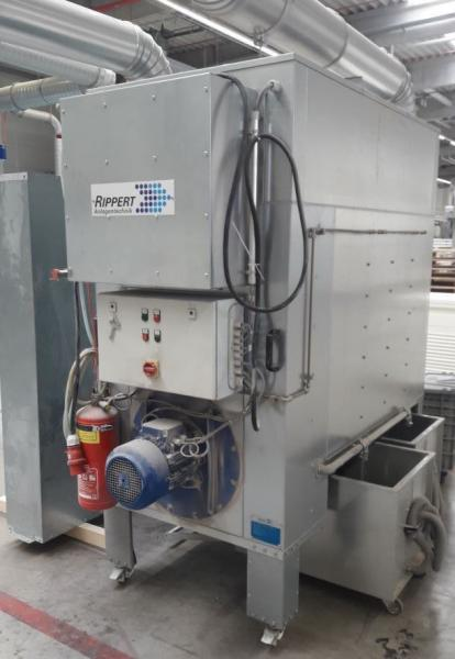Mobile dust extraction (7,5 kW)